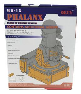 美品 プラモデル アメリカ海軍 MK-15 ファランクス w/追加装甲版 RPGスケールモデル 1/35