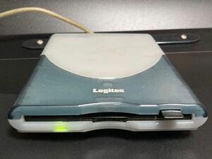 外付けFDDドライブ LFD-31US Logitech USBバスパワー