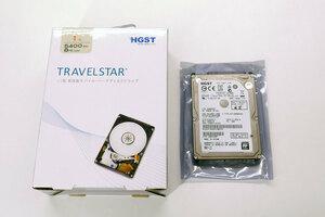 HGST 2.5インチ1TB SATA HDD / HTS541010A9E680 / Travelstar 5K1000