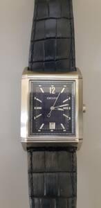 DKNY ダナキャランニューヨーク 腕時計 皮ベルト 稼働