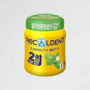 好評 新品 大人のリカルデント清涼ミントボトル モンデリーズ・ジャパン Y-94 140g
