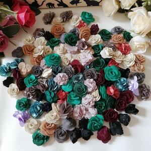 モチーフ ハンドメイド ワッペン 刺繍 綺麗なワッベン 手作り 花モチーフ