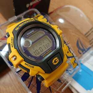 即決 CASIO Gショック 国内正規品 DW-9350J-9T イエローレイズマン 二次電池交換済み! 安心個体!新品 未使用品② 特価品!定価29000円+税