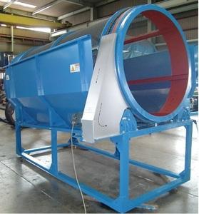 トロンメル 直径1.5m 回転式ふるい機 ふるい機 回転ふるい機 篩い機 篩い 003