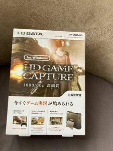 I-O DATA キャプチャーボード HDMI PC用 GV-USB3/HD