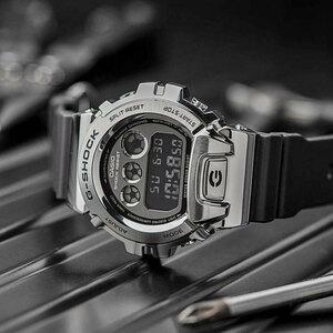 1円開始 G-SHOCK メタルカバード デジタル 逆輸入 G-SHOCK 20気圧防水 CASIO 新品 メンズ 腕時計 Gショック 耐衝撃構造 新品未使用