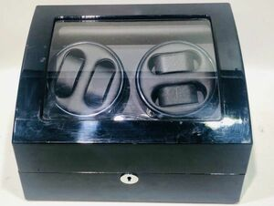 winding machine 4ps.@ volume black wristwatch maximum 10ps.@ storage ke- Swatch Winder lack of equipped present condition goods