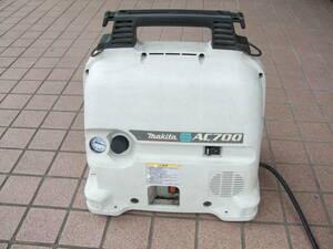 マキタ makita  エアーコンプレッサー AC700  稼動品  S/N1457 (№551)
