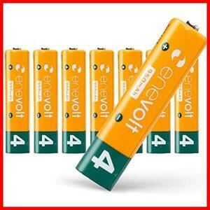enevolt(エネボルト) 単4形充電池 950mAh ニッケル水素充電池 単4 充電池 使用開始記入欄 リニューアル版 3R SYSTEMS 8本セット