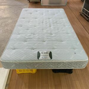 No.600354 NOBLS(ノブルス)日本ベッド製 マットレス 一流ホテル採用品 セミダブル サイズ 幅1200×長さ2000×厚さ170 福岡県大川市より