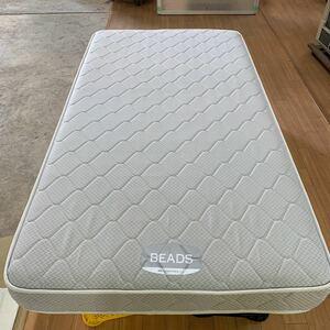No.600355 BEADS ビーズ 日本ベッド製 マットレス 一流ホテル採用品 シングルサイズ 幅1100×長さ2050×厚さ200 福岡県大川市