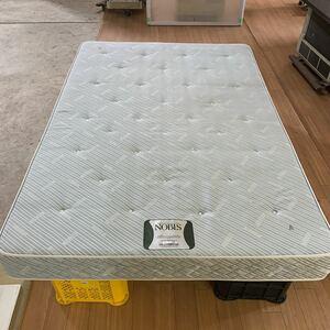 No.600356 NOBLS(ノブルス)日本ベッド製 マットレス 一流ホテル採用品 ダブル サイズ 幅1380×長さ2000×厚さ170 福岡県大川市より