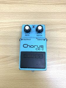 H 【エフェクター】 BOSS Chorus CE-2 銀ネジ Products of Roland MADE IN JAPAN