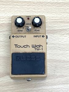 H 【エフェクター】 BOSS Touch Wah TW-1  銀ネジ  Products of Roland MADE IN JAPAN