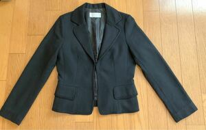 テーラードジャケット レディース 11号 黒