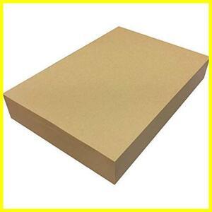 ★大特価★★色:500枚★ ブラウン 55021 ブックカバー ラッピング 包装紙 コピー用紙 MAKH99 500枚 未晒 75.5kg A4 クラフト紙