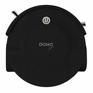 ブラック DOMOオートクリーナー ロボット掃除機(軽量薄型 / 簡単お手入れ / 落下防止センサー / 障害物バンパー) ブラ