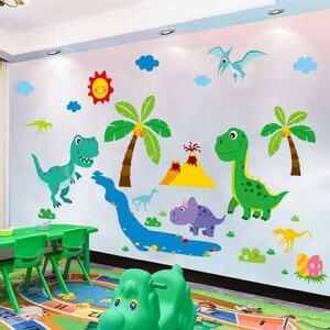 (NO.340)DIY剥がせる壁飾りウォールステッカー綺麗な仕上がり 恐竜