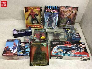 1円~ 同梱不可 ジャンク 北斗の拳、デビルマン、スパイダーマン、X-MEN、SPAWN他 フィギュア等
