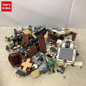 1 jpy ~ with special circumstances Junk LEGO Lego Mini fig block white Brown gray other / parts