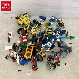 1円~ 訳あり ジャンク LEGO レゴ タイヤ ミニフィグ ブロック イエロー グレー ブルー 他 / パーツ