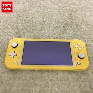 1円~ 動作確認済 初期化済・箱無 Nintendo Switch Lite 本体 HDH-001 イエロー