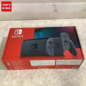 1円~ 動作確認済/初期化済 Nintendo Switch HAC-001(-01) Joy-Con グレー 本体