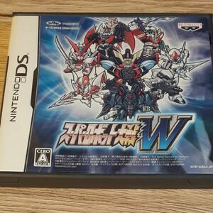 DS スーパーロボット大戦W スーパーロボット大戦 DSソフト ニンテンドーDS ニンテンドー