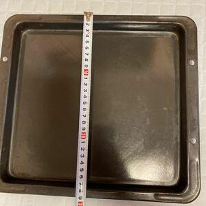 オーブンレンジ用プレート鉄板2枚