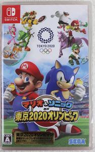 ♪未使用品♪NINTENDO SWITCH ソフト 『マリオ&ソニック AT 東京2020オリンピック』 SEGA/セガ ジャンル:スポーツゲーム ※未開封品