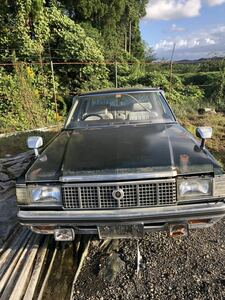 Toyota Crown spa- saloon (53 year ) part removing car