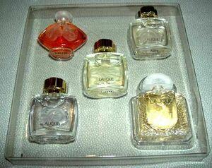 本物 ラリック フランス ラコレクション 5 個セット ミニチュア 香水 ボトル 新品 ボックス Lalique
