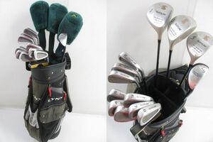 初心者お勧め! メンズ ゴルフクラブ 14本フルセット (R) LYNX キャディバッグ付き スターターセット @150