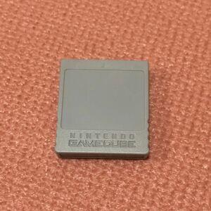 任天堂純正 ゲームキューブ メモリーカード59 【001】
