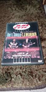 『Live at Musicians Institute』DVD 【Brett Garsed, T.J.Helmerich,Virgil Donati】 ブレッド・ガースド、ヴァージル・ドナティ