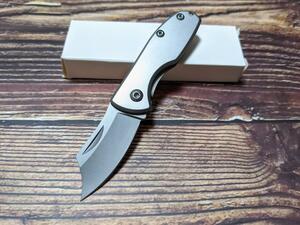 アウトドア 折りたたみナイフ 小型 フォールディングナイフ サバイバル 釣り キャンプ 登山