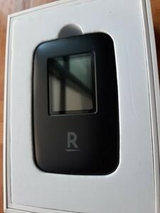 楽天モバイル wifi ルーター R310 ブラック パンダ