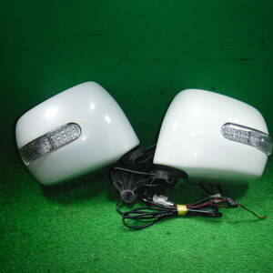 [MH21S Wagon R side mirror door mirror left right set Turn lamp attaching ]
