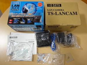 ★ 送料無料 ★ ジャンク品 LANカメラ アイ・オー・データ機器 PAN&TILT対応