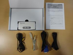 ★ 送料無料 ★ ジャンク品扱い ダウンスキャンコンバーター AV-DSC1 ELECOM  エレコム