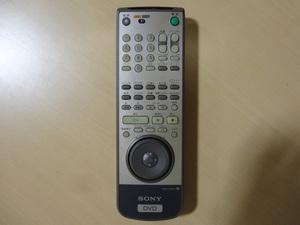 ★ SONY  DVD RMT-D122J  リモコン ソニー ★ レターパックプラス発送