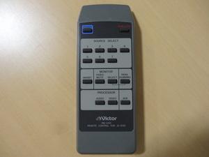★ Victor ビクター  RM-A510  AVセレクター  JX-S510 用リモコン ★ レターパックプラス発送