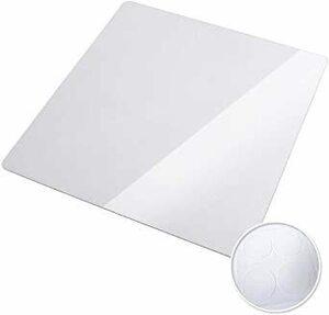 □残1□透明 Mサイズ [Hirano] 冷蔵庫 マット フローリング 床 傷防止 高硬度ポリカーボネート 透明[ゼロキーパー] 500