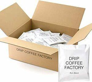 超安値!リッチ ブレンド 【 100袋 】 ドリップバッグ コーヒー【大容量】  ドリップコーヒーファクトリーQKET