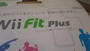 任天堂 Wii Fit PLUS ボードと取説のみ