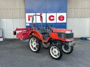 クボタ トラクター GB16 4WD 220時間 草刈り フレールモア・双用すき・掘取機・ロータリーカルチセット♪