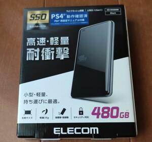 新品未開封品 480GB 外付けSSD ELECOM USB3.0対応