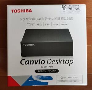 新品未開封品 6TB 外付けハードディスク 東芝 TOSHIBA×BUFFALO 外付HDD