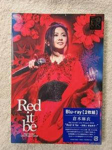 """倉木麻衣 - Blu-ray ブルーレイ 「Live Project 2018 """"Red it be ~君想ふ 春夏秋冬~""""」 送料込み!"""