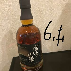 富士山麓ウイスキー6本700ml